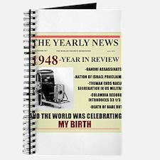born in 1948 birthday gift Journal