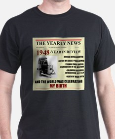 born in 1948 birthday gift T-Shirt