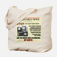 born in 1949 birthday gift Tote Bag