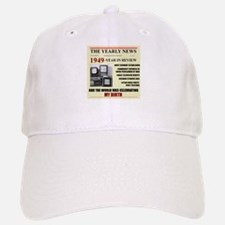 born in 1949 birthday gift Baseball Baseball Cap