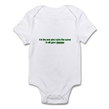 I'm The One Who Ruins The Cur Infant Bodysuit
