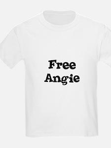 Free Angie Kids T-Shirt