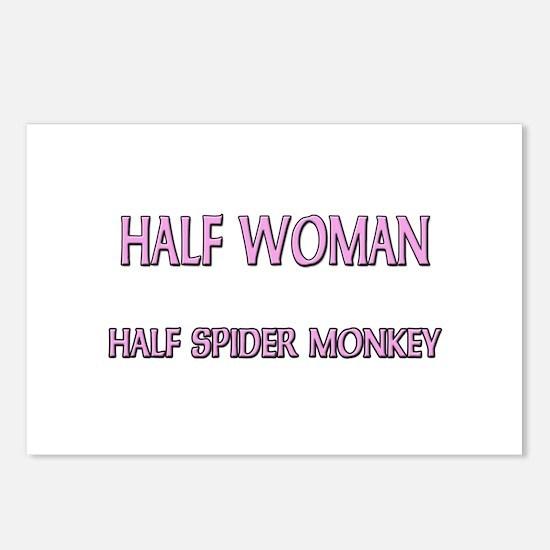 Half Woman Half Spider Monkey Postcards (Package o