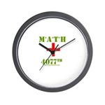 MATH 4077 Wall Clock