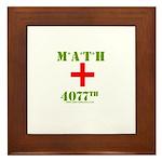 MATH 4077 Framed Tile