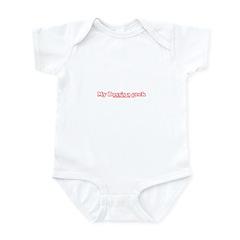 My Boss's A Geek Infant Bodysuit
