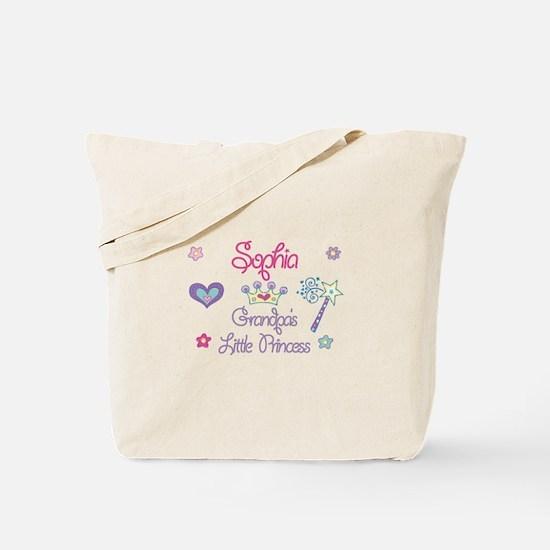 Sophia - Grandpa's Princess Tote Bag