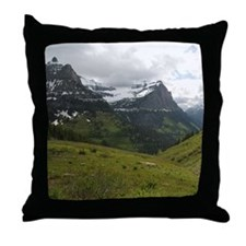 Going To The Sun Road Throw Pillow