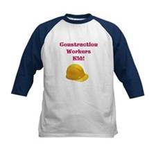 Construction Workers Kid Tee