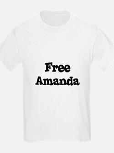 Free Amanda Kids T-Shirt