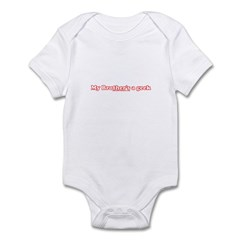 My Brother's A Geek Infant Bodysuit