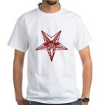 Vintage Occult Goat White T-Shirt