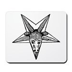 Vintage Occult Goat Mousepad