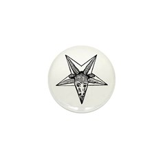 Vintage Occult Goat Mini Button (10 pack)