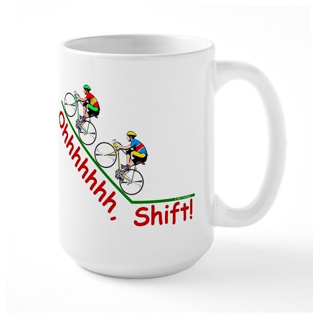 Ohhhhh, Shift Mug by Philography