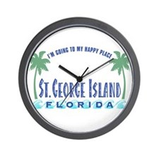 St. George Happy Place - Wall Clock