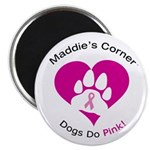 Dogs Do Pink! Magnet