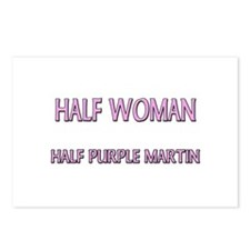 Half Woman Half Purple Martin Postcards (Package o