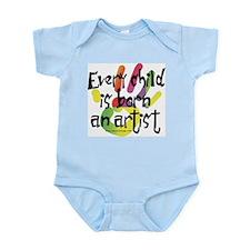 Every Child is Born an Artist Onesie