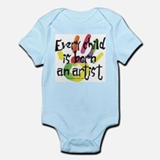 Every Child is Born an Artist Onesie
