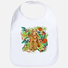 Airedale Terriers go green Bib