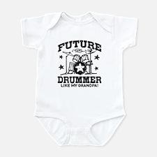 Future Drummer Like My Grandpa Infant Bodysuit