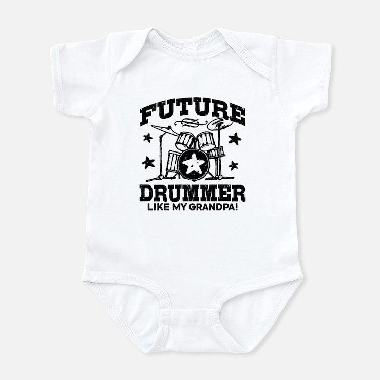 Future Drummer Like My Grandpa Onesie