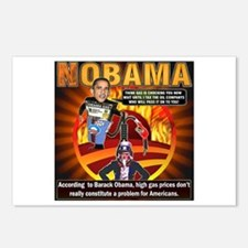 Obama on oil and gas Postcards (Package of 8)