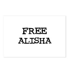 Free Alisha Postcards (Package of 8)