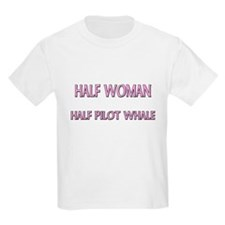 Half Woman Half Pilot Whale T-Shirt