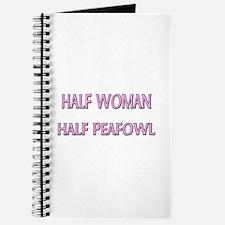 Half Woman Half Peafowl Journal