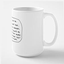 Not a Turd Large Mug