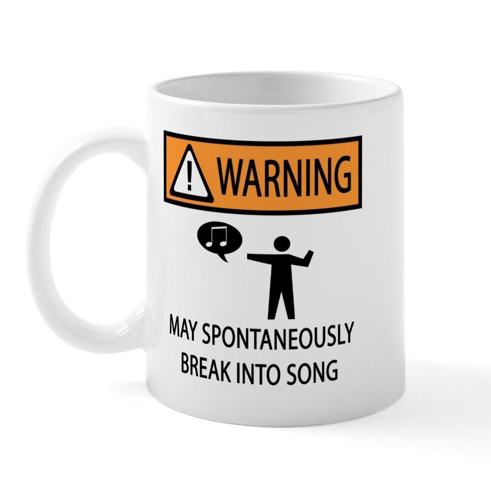 CafePress Spontaneous Singer Mug 11 oz Ceramic Mug 281646366