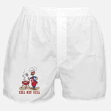 Real Men Grill Dad Boxer Shorts