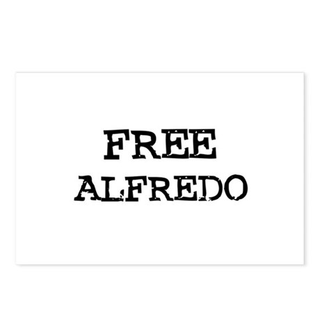 Free Alfredo Postcards (Package of 8)