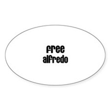 Free Alfredo Oval Decal