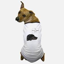 Pity Act- Black Lab Dog T-Shirt