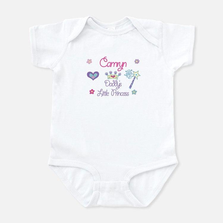 Camryn - Daddy's Princess Infant Bodysuit