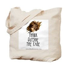 Think Outside The Cage - Tote Bag