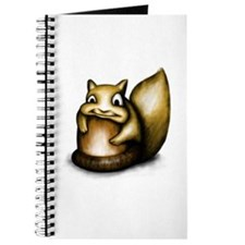 Squirrel With Acorn Journal