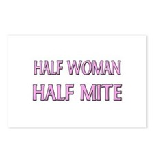 Half Woman Half Mite Postcards (Package of 8)