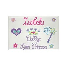 Isabella - Daddy's Princess Rectangle Magnet