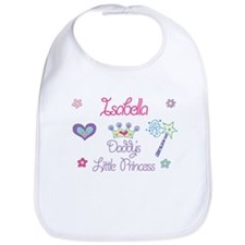 Isabella - Daddy's Princess Bib