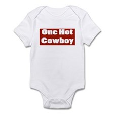 ONE HOT COWBOY Onesie