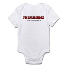 I'M AN ASSHOLE WHAT'S YOUR EX Onesie