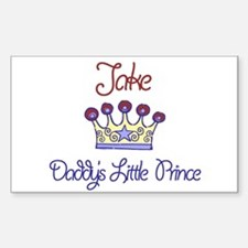 Jake - Daddy's Prince Rectangle Decal