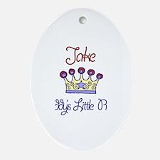 Jake - Daddy's Prince Oval Ornament