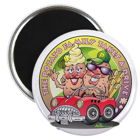 """The Potato Family 2.25"""" Magnet (10 pack)"""