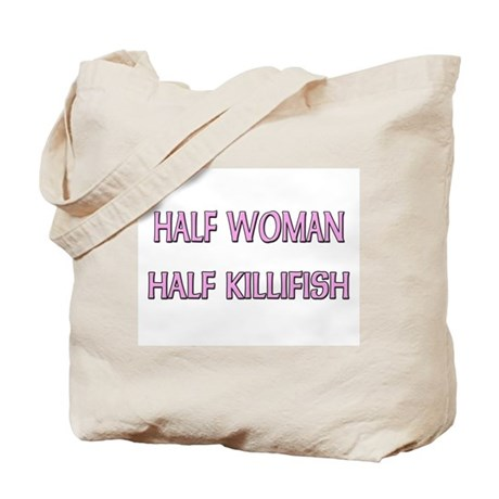 Half Woman Half Killifish Tote Bag