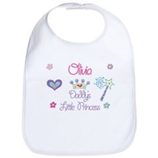 Olivia - Daddy's Princess Bib